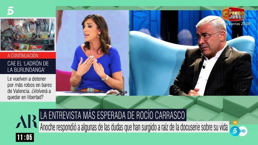 Patricia Pardo y Jorge Javier Vázquez