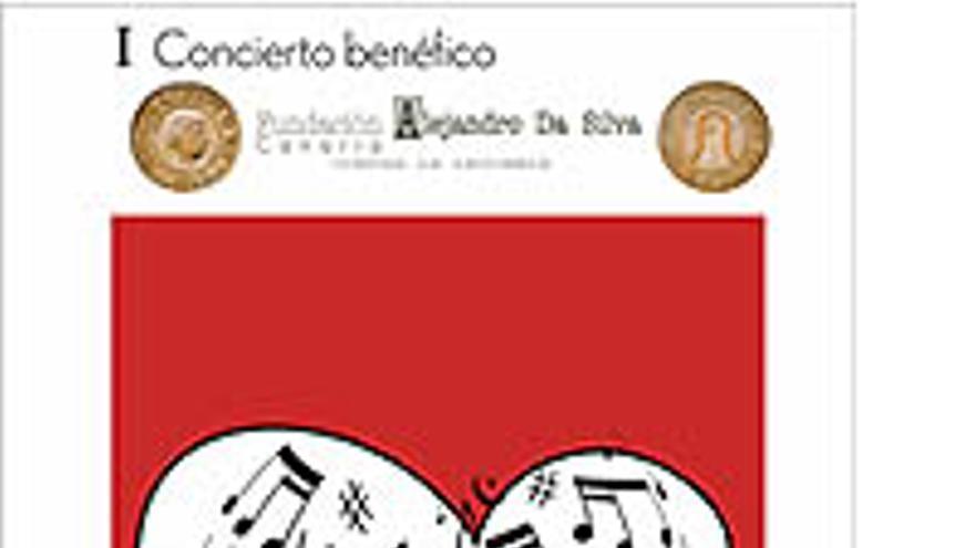 Cartel anunciador del concierto de Alejandro Da Silva.