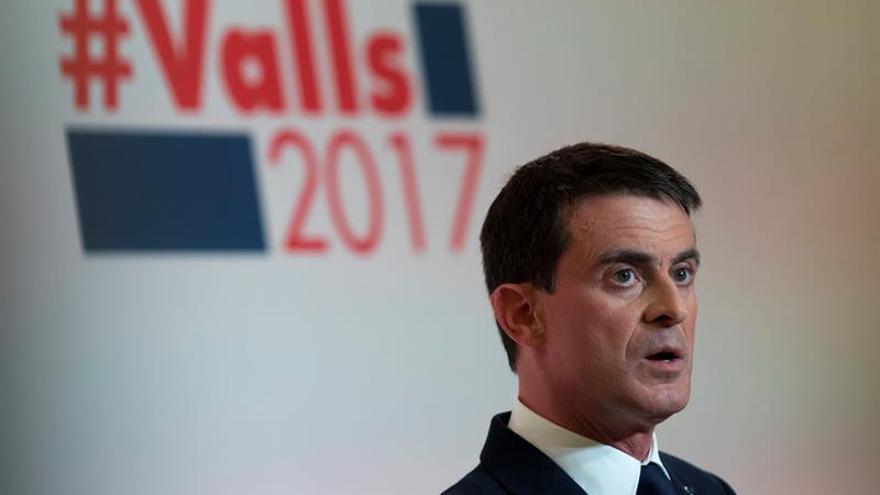 Valls, Montebourg y Hamon buscan afianzar su renta en las primarias del PS