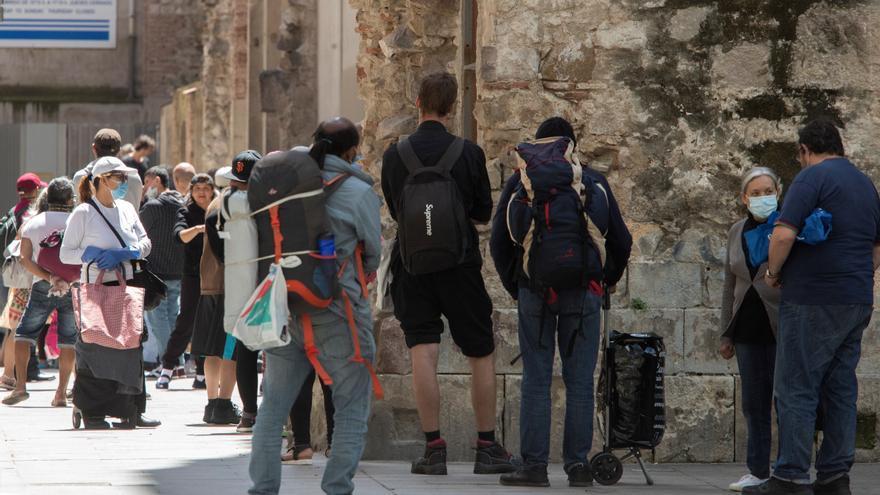 Un 26,3 % de los catalanes vive en riesgo de pobreza, la tasa más alta en 8 años
