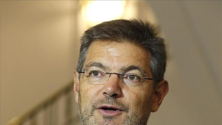 Catalá está sorprendido por el archivo, por segunda vez, del caso Zapata