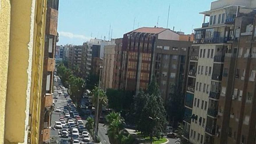 La avenida Giorgeta de Valencia