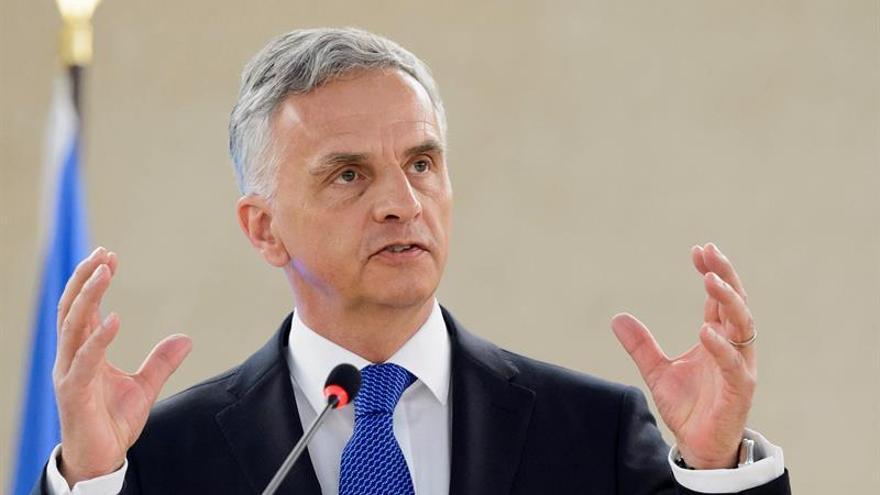 Suiza transmite sus condolencias a Cuba por la muerte de Castro