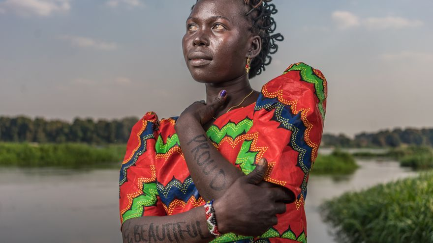 "Rashol 'Buwa Repent: ""Orgullosa y guapa"" | FOTO: Robert X. Fogarty - Oxfam Intermón"