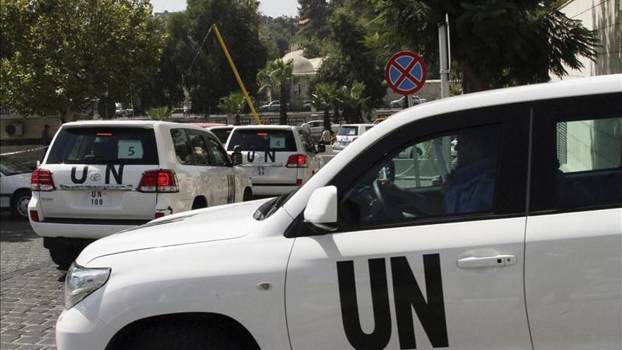 Los inspectores de la ONU salen de Siria al Líbano, según la cadena Al Yazira