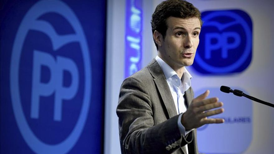 El PP exige a Sánchez que explique si ser catalanista es dar sus votos a la CUP
