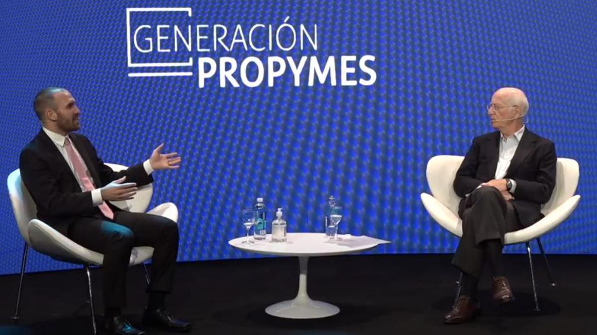 Rocca y Guzmán en el cierre de la 19° edición del Seminario ProPyme, organizado por el Grupo Techint