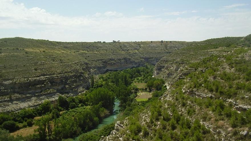 Cañón del río Júcar en Jorquera (Albacete) / Foto: Albacetecapital.es