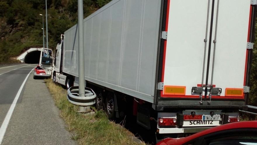 Imputado un camionero en Sunbilla por octuplicar la tasa de alcohol