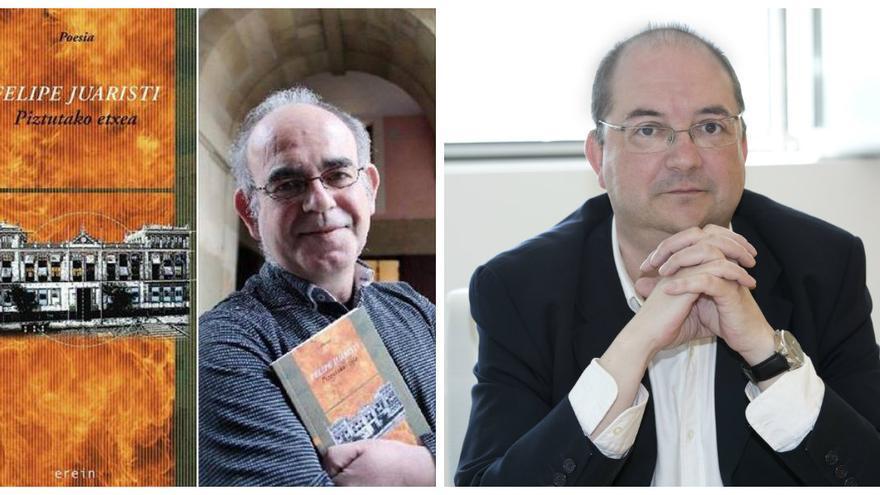 De izquierda a derecha, Felipe Juaristi y Pedro Ugarte