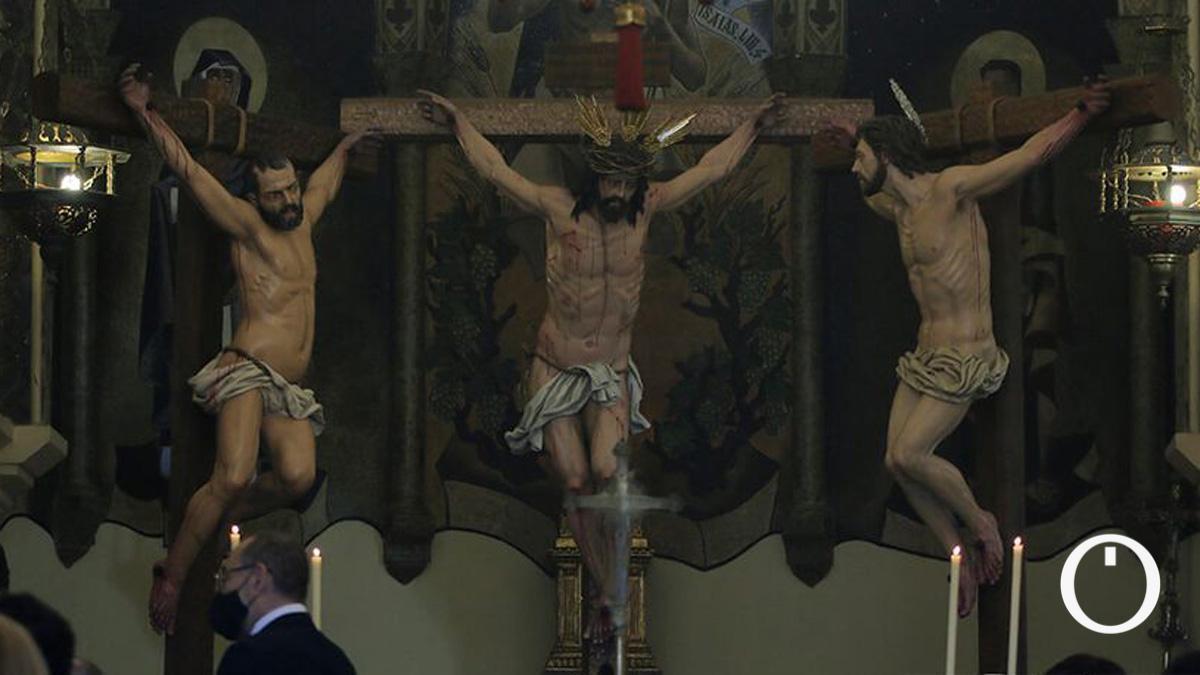 Titular e imágenes del misterio de la Conversión.