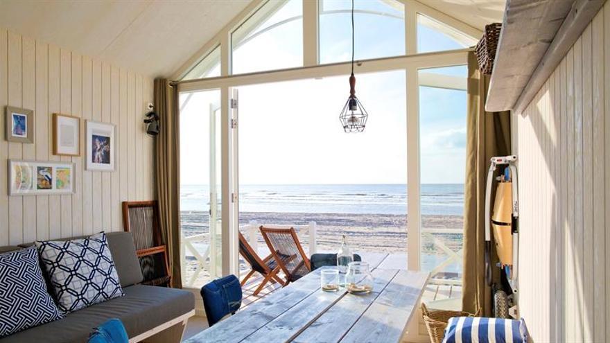 Una casa de playa aloja a blogueros para dar a conocer La Haya