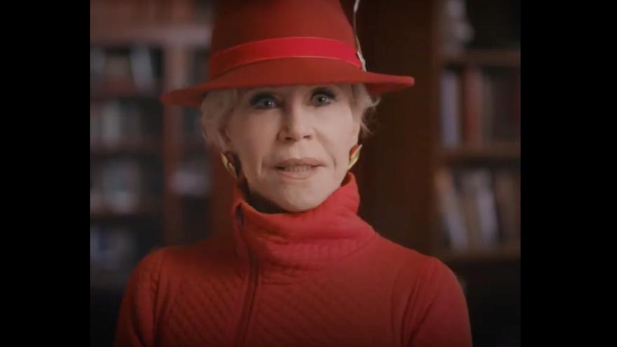 La actriz Jane Fonda presenta la campaña 'Stop the Money Pipeline'