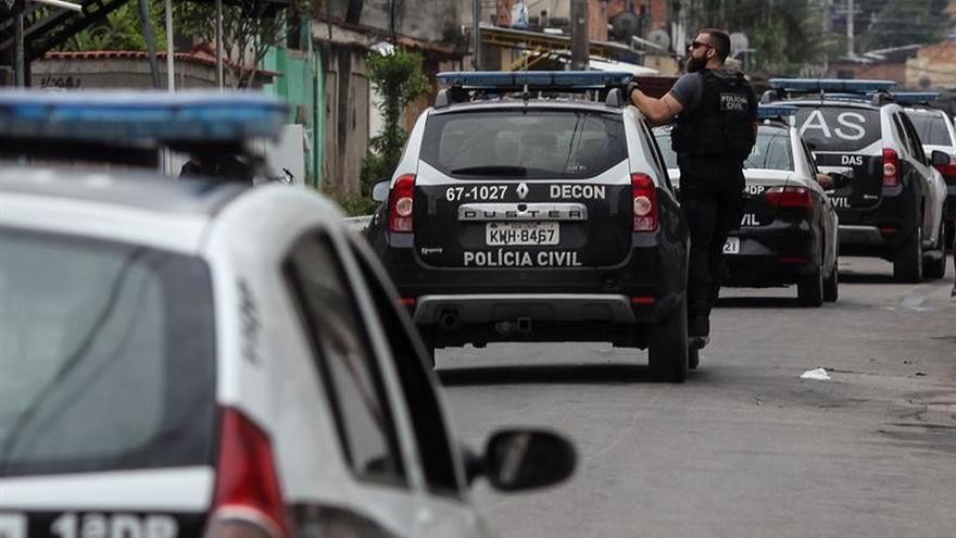 Detenidos ocho traficantes en Ciudad de Dios tras seis días de enfrentamientos