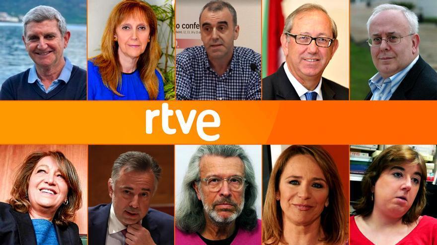 Los diez nuevos consejeros de RTVE
