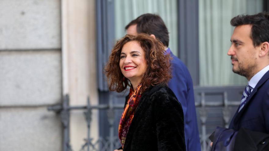 La ministra de Hacienda y nueva portavoz del Gobierno, María Jesús Montero.