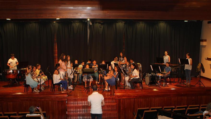 Banda Municipal Infantil de Música de El Paso.