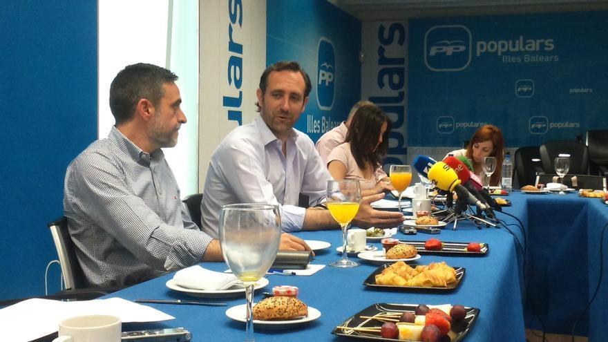 Bauzá afirma que el PP balear obtendría entre 24 y 26 escaños, según sus encuestas