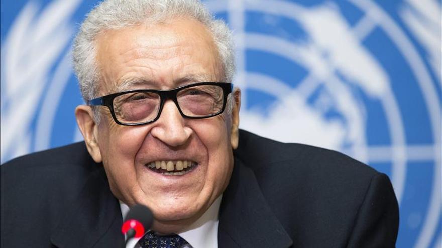 El mediador internacional para Siria visitará Madrid el 11 de diciembre