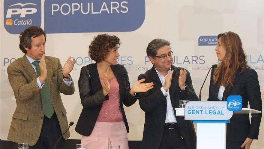 """El PPC ve a Mas """"enrocado"""" y tilda de poco seria la invitación a reunirse con Rajoy"""
