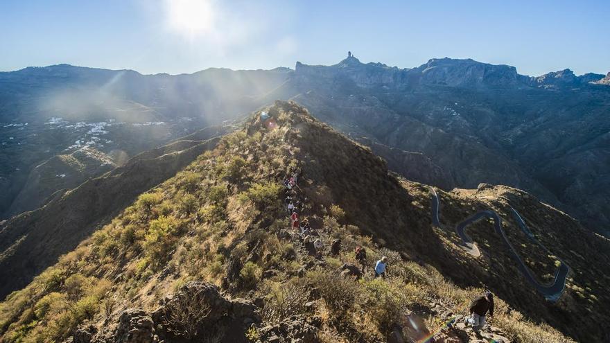 Llegada del otoño en el yacimiento del Roque Bentayga (Canarias Ahora)