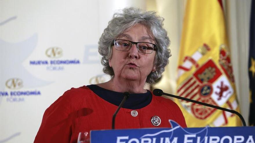 La periodista Soledad Gallego-Díaz, premio Agustín Merello
