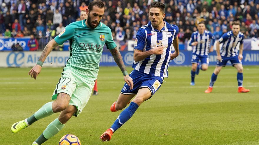 Aleix Vidal fue uno de los futbolistas más destacados