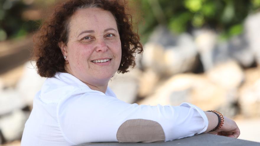 Angélica Martín, camarera de piso