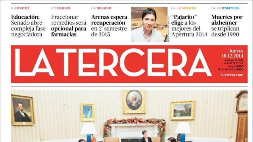 La Tercera (Chile).