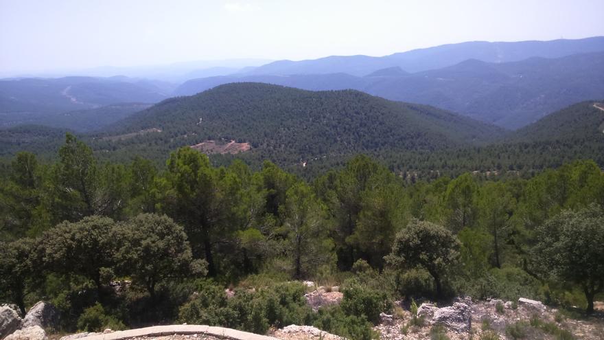 Vista de uno de los parajes del Alto Turia