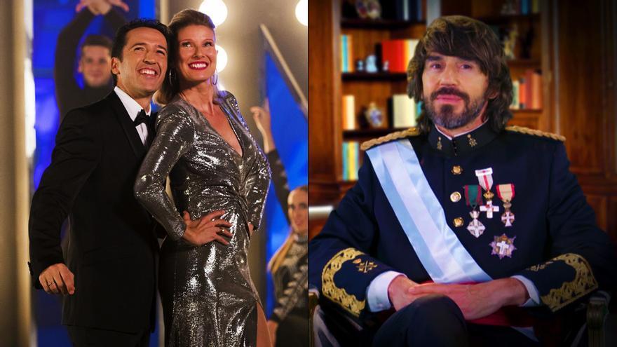 Jacob Petrus y Anne Igartiburu en TVE, y Santi Millán en Telecinco