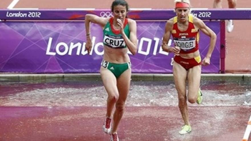 Marta Domínguez, duodécima en la final de 3.000 obstáculos