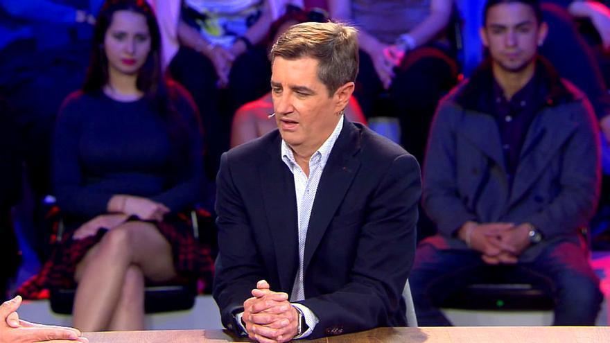 Lapsus de Risto en Telecinco con un hombre invidente: '¿Quieres verlo?'