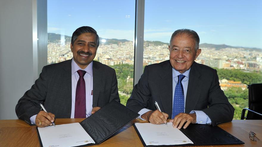 Gas Natural Fenosa logra un contrato de suministro de gas a India por 1.000 millones