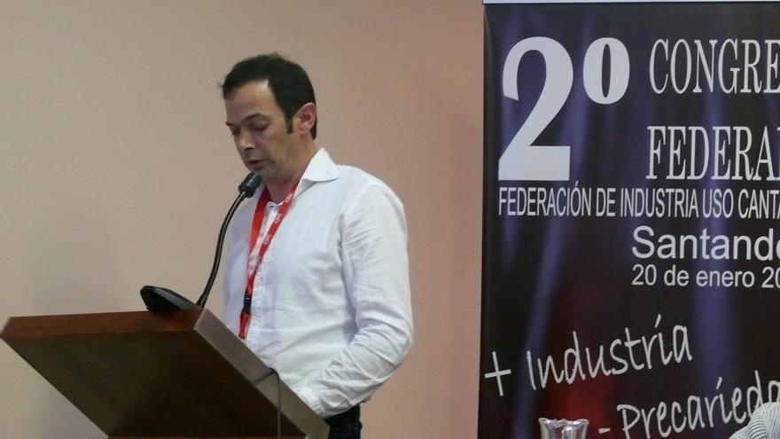 Enrique Gómez, nuevo secretario general de Industria de USO Cantabria