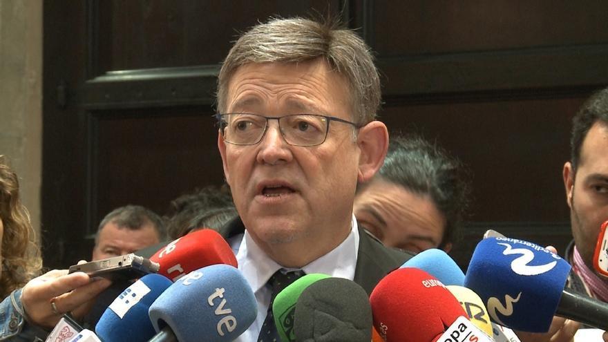 """Ximo Puig tacha de """"mala noticia"""" el juicio a Chaves y Griñán y espera que sean absueltos"""