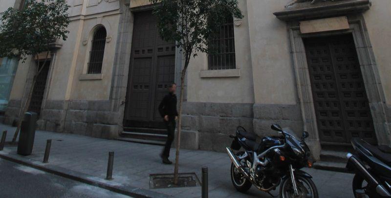 Fachada de la Iglesia de San Antón