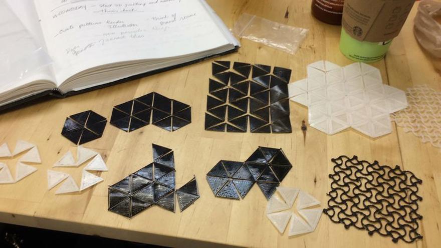 La diseñadora de Cosine Additive ha elegido poliuretano termoplástico por su flexibilidad