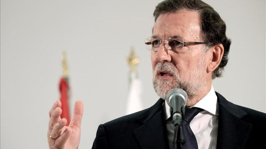Rajoy viajará mañana a Pamplona para firmar el pacto PP-UPN ante el 20D