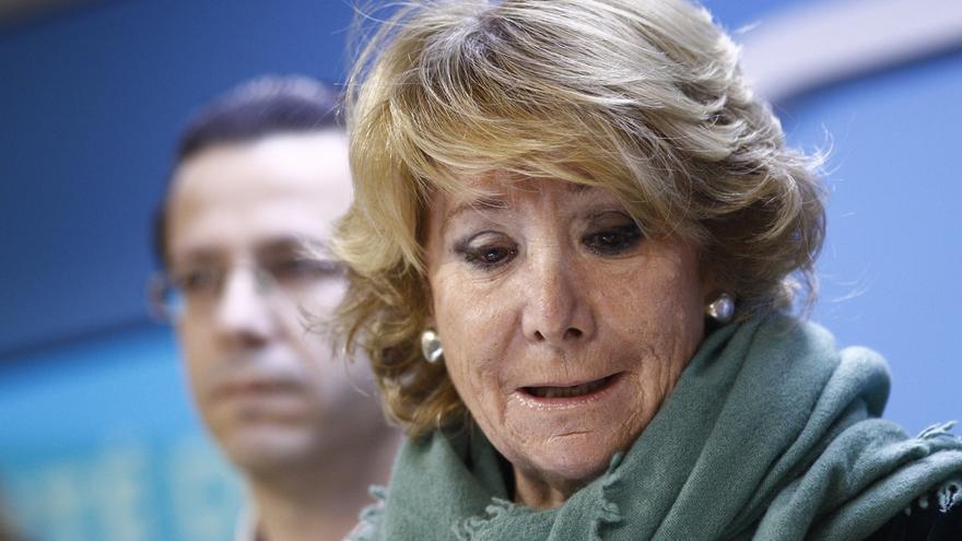 Aguirre aclara que si es alcaldesa no se presentará al próximo Congreso para seguir como presidenta del PP en Madrid