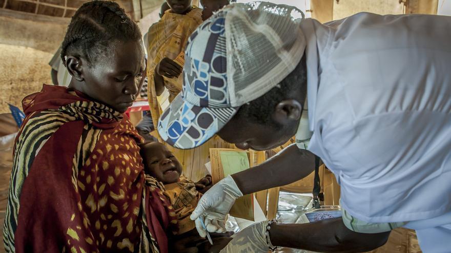 Vacunación en Yida, Sudán del Sur. Foto 9. © Yann Libessart/MSF