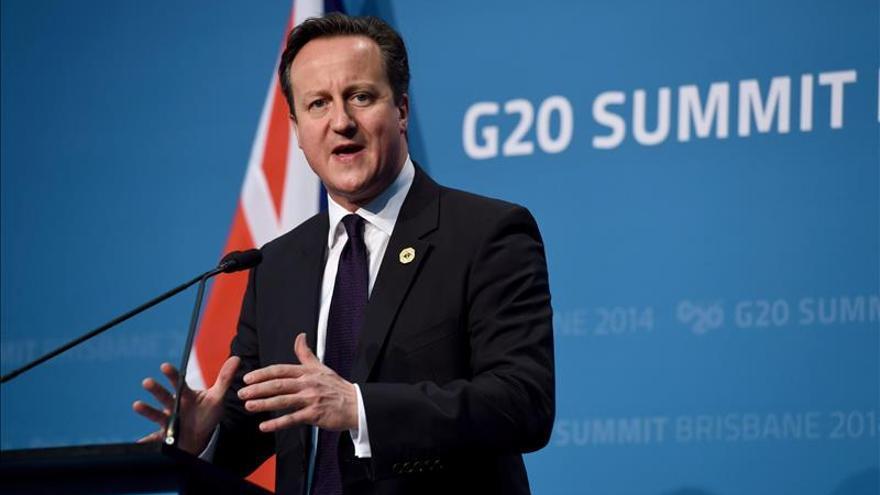 Cameron asegura que las multinacionales no evadirán el pago de sus impuestos
