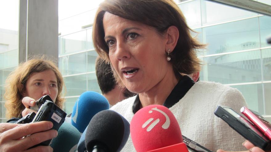 """Barcina critica que """"cada vez que hay una huelga nacionalista los radicales causan destrozos"""""""