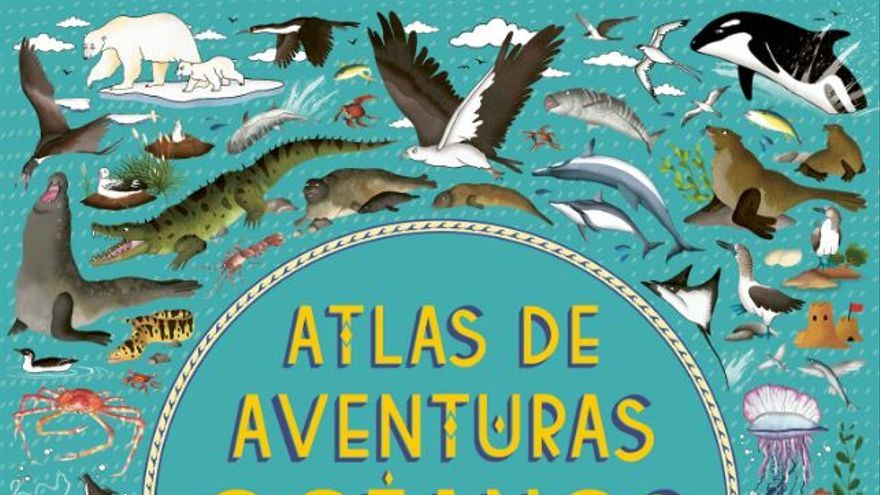 'Atlas de aventuras océanos' de Lucy Letherland y Emily Hawkins