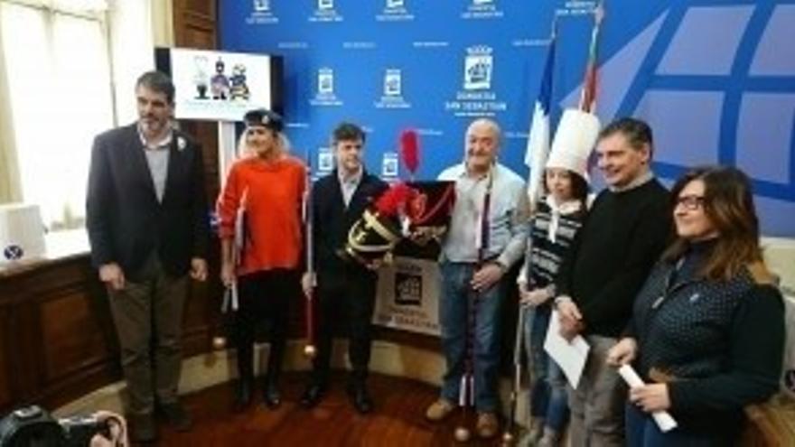 Un total de 4.589 personas harán sonar los tambores y 11.500 los barriles en la Tamborrada 2018 de San Sebastián