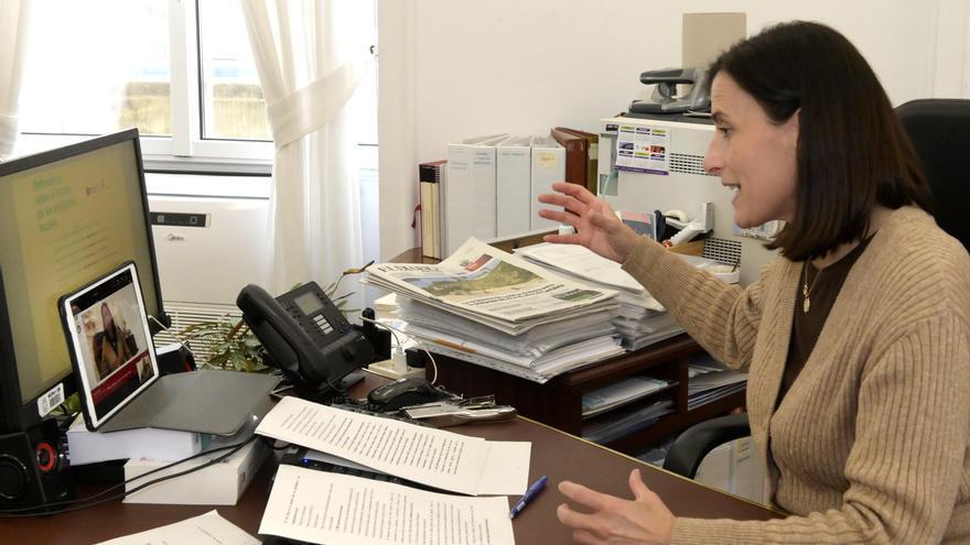 La alcaldesa de Santander, Gema Igual, interviene de forma telemática en un foro