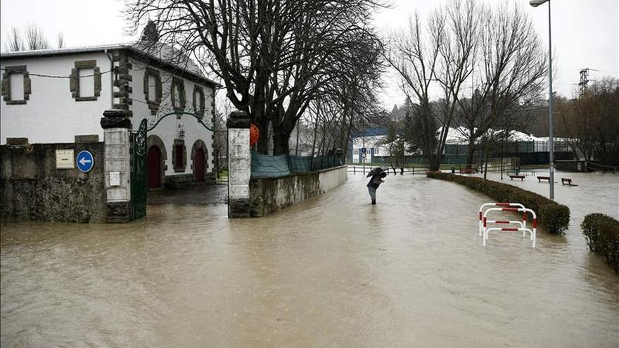 Pamplona activa el nivel de Emergencia 02 por la crecida del río Arga