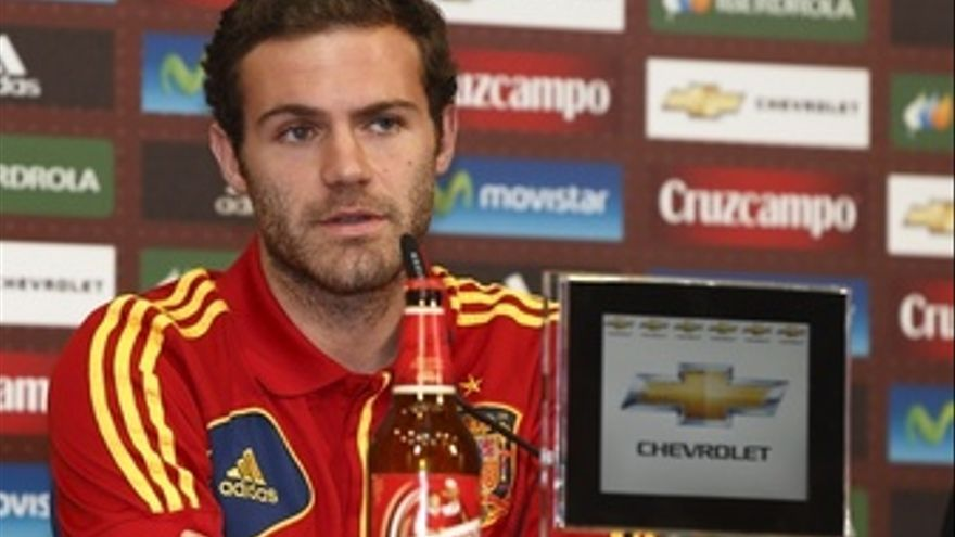 Juan Mata Rueda De Prensa Selección