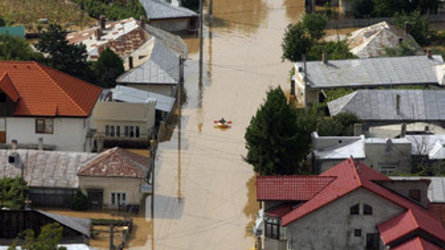 Inundaciones en Rumanía