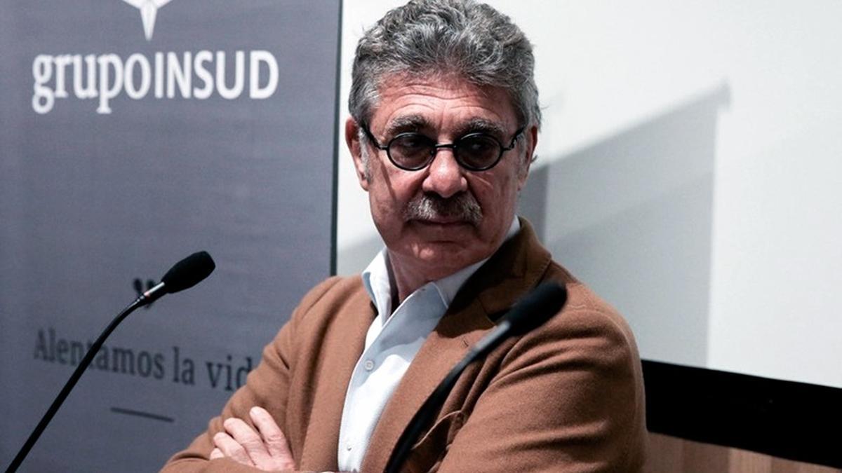 Hugo Sigman, dueño del laboratorio que fabrica en Garin el principio activo de la vacuna de AstraZeneca.
